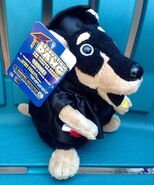 NEW GEMMY GRADUATION DAWG DOG PUPPY PLUSH DANCES SINGS PARTY LIKE A ROCK STAR