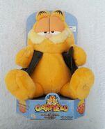 Rockin' Rebel Garfield by Gemmy sings dances to Bad to the Bone 3AA batteries
