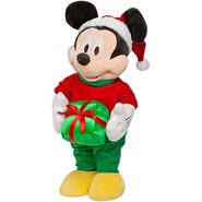 Christmas Greeter-Mickey Mouse