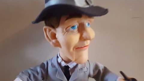 RARE! Gemmy Animated Bing Crosby