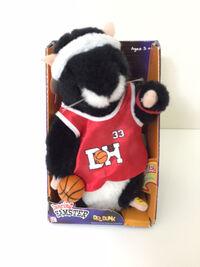 Rare Gemmy Dancing Hamster Sings Basketball Jones Dr. Dunk New In Box