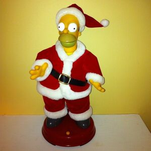 Gemmy dancing homer simpson christmas