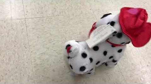 NEW FOR 2018 Gemmy animated dancing tweaking Dalmatian