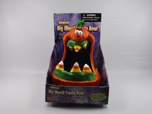 Animated BIG MOUTH Candy Bowl! Halloween Talking 2002 Gemmy 2