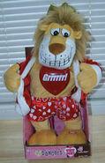 Flirty flasher-king lion