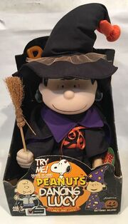 Peanuts Dancing LUCY Halloween - Musical Dancing LUCY Witch New In Box