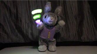Gemmy Easter 2020 - Jellybean Spinner Bunny