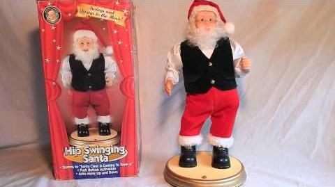 Hip Swinging Santa