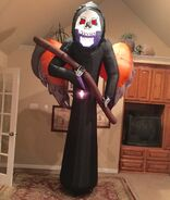 Gemmy Prototype Reaper Inflatable Airblown