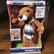 PENN STATE Lion Musical Mascot waves dances shouts cheer - Original Box NWT