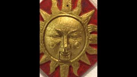 GEMMY ANIMATED SUN PLAQUE