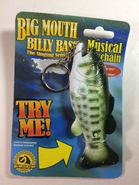 Big Mouth Keychain (Front)