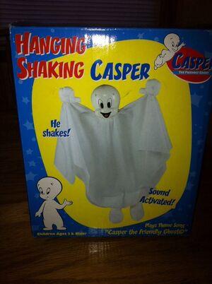 Hanging shaking casper's box