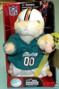 NFL Cheering Hamster-Miami Dolphins