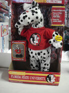 Gemmy FLORIDA STATE UNIVERSITY mascots collection