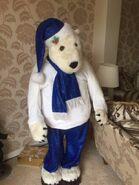 Possible Prototype Gemmy animated life sized polar bear
