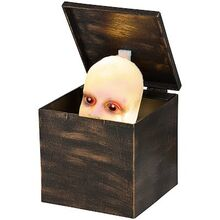 Animated Creepy Baby Jack-In-The-Box