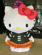 Gemmy Prototype Halloween Inflatable Hello Kitty as Pirate