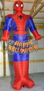 Gemmy Prototype Halloween Inflatable Spiderman