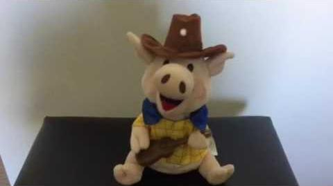 Gemmy - Country Pigs - Coy - I Like It, I Love It