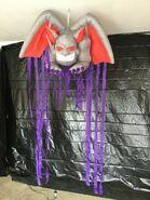 Gemmy Prototype Halloween Inflatable Door Archway Gargoyle 1