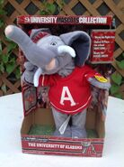The University Of Alabama GEMMY Mascot Collection Roll Tide Spirit Doll Dances