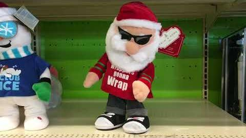 Animated Pop & Lock Santa