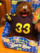 MUSICAL CHAMP SPORTS BEAR 1998