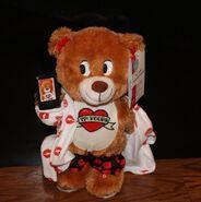 Gemmy Flirty Flasher Cute Dancing Teddy Bear Talk Dirty To Me Plush Gift