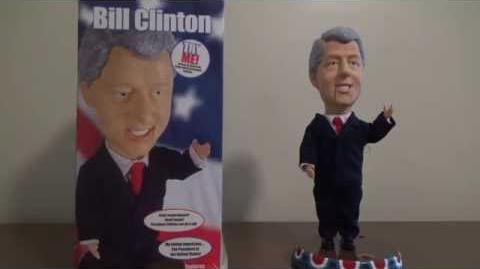 Gemmy Pop Culture Series- Animated Talking President Bill Clinton