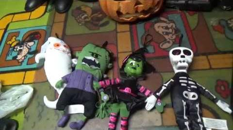 Gemmy Target Licensed Exclusive Halloween hang up Talking Characters