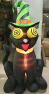 Gemmy Prototype Halloween Inflatable Eye Spinning Cat