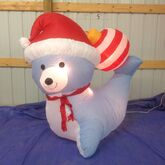 Gemmy inflatable christmas seal