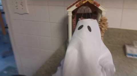 Gemmy Grave Raver Ghost