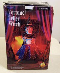 Gemmy Halloween fortune teller witch 2