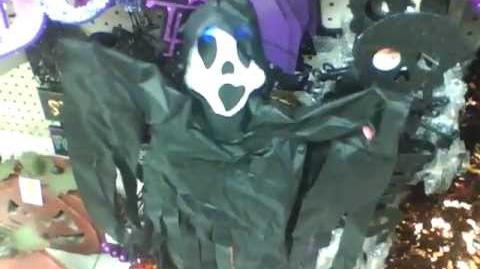 Gemmy halloween hang ups reaper-0