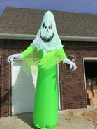 Gemmy Prototype Halloween Inflatable Creepy Ghost