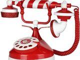 Santa's Candy Stripe Telephone