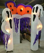 Gemmy Prototype Halloween Boo Ghost Archway