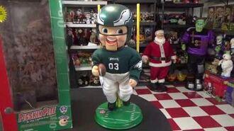 "Gemmy NFL Series Animated ""Pigskin Pete & His Lightening Feet"" (Philadelphia Eagles) (Re-upload)"