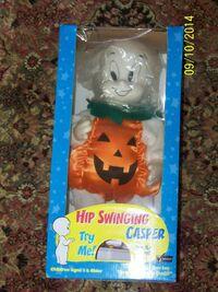 Casper the Friendly Ghost - HIP SWINGING CASPER Dancing HALLOWEEN