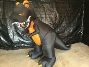 Gemmy Prototype Halloween Inflatable Trex Dinosaur