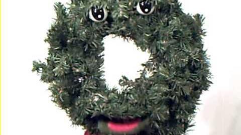 douglas fir the talking wreath gemmy wiki fandom. Black Bedroom Furniture Sets. Home Design Ideas