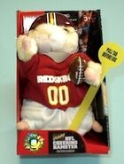 NFL Cheering Hamster-Washington Redskins