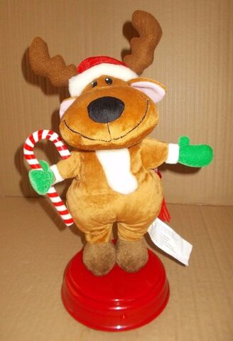 File:Gemmy Industries Animated Singing Dancing Reindeer Spins ''Everybody Dance Now''.jpg