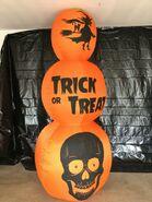 Gemmy Prototype Halloween Inflatable Pumpkin Stack