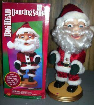 Big heads-santa claus