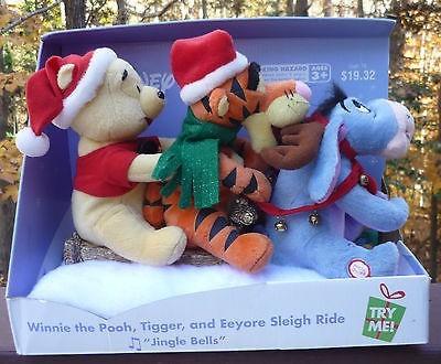 pooh tigger and eeyore sleigh ride gemmy wiki fandom powered
