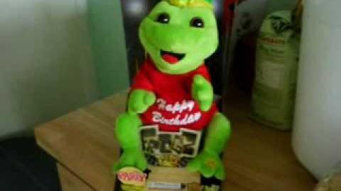 (Gemmy) Frogz - Party Frogz - Today is your Birthday!