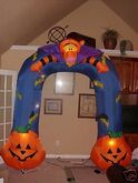 8FT. PROTOTYPE TIGGER ARCHWAY INFLATABLE AIRBLOWN